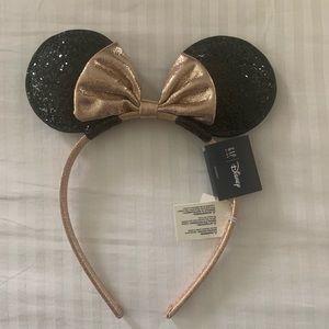 NWT Girls Gap Minnie Mouse ears headband